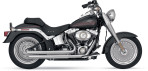 1986-up Vance & Hines Q-Series Double Barrel Exhaust – 18001