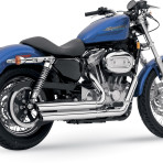 2005-up Vance & Hines Q-Series Double Barrel Exhaust – 18005
