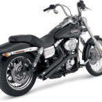 2006-up Vance & Hines Black Sideshots Exhaust System – 46001