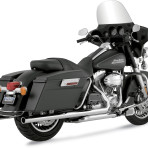 2009 Vance & Hines Chrome Big Shot Duals Exhaust System – 17927