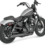 2004-up Vance & Hines Blackout 2 into 1 Exhaust System – 47501