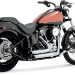 2012-up Vance & Hines Shortshots Staggered Exhaust – 17225