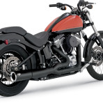 2012-up Vance & Hines Black Pro Pipe Exhaust System – 47527