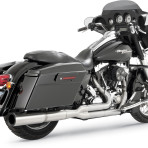 2010-up Vance & Hines Chrome Pro Pipe 2 into 1 Exhaust System – 17559