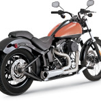 2000-2011 Vance & Hines Black Ceramic Powder-Coat Stainless Steel Competition Series 2-into-1 Exhaust System – 751149