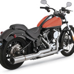 2001-up Vance & Hines Stainless Hi-Output 2 into 1 Exhaust System – 27521