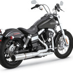 2008-up Vance & Hines Stainless Hi-Output 2 into 1 Exhaust System – 27523
