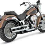2007-up Vance & Hines Straight Shot HS Slip-Ons – 16827