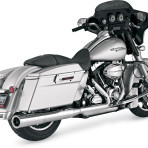 2010- Vance & Hines Hi-Output Slip-On Mufflers for Models w/2 into 1 System – 16779