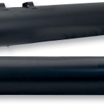 1995-up 4″ Race Tour Mufflers by S&S Cycle (black with 1861-0812 end cap) 1801-0619/ 1861-0812