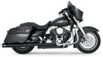 2010-up Vance & Hines Black Dresser Duals Header Pipes – 46829