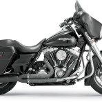 2010-up Vance & Hines Black Pro Pipe Exhaust System – 47561