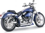 1987-1999 Vance & Hines Chrome Shortshots Exhaust System – 17207