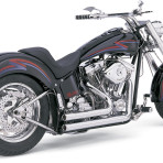 1986-2006 Vance & Hines Chrome Shortshots Exhaust System – 17209