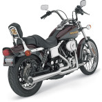 1993-up Vance & Hines Chrome 2-into-1 Pro Pipe HS Exhaust System – 17523